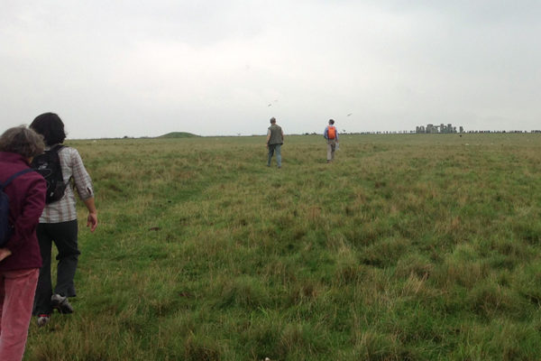 guided walk in Stonehenge Ceremonial landscape