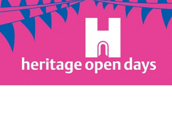 Bunting and Logo for Heritage Open Day