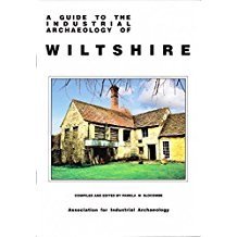 Book cover - Industrial Archaeology in Wiltshire