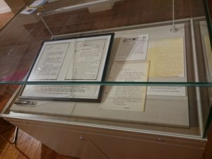 Telegram on display