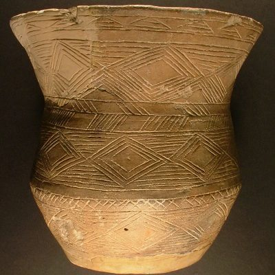 Beaker excavated from the megalithic chambered toomb at West Kennet, Avebury